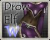 *W* Dark Drow Spider Elf