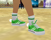 Green Bunny shoes
