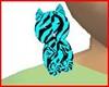 tiger neon blue pet