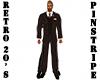 Retro 20's Brown Suit