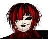 -X- red short emo