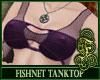 Fishnet Top Purple