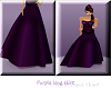 (TB) Purple long skirt