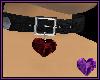 Garnet Heart Collar