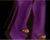 Stiletto Boots Purple