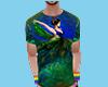 Shirt W Peacock 133