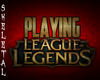 League Spinning Sign