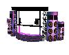 Purple Dj Booth