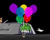 7 colourd baloons