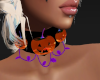 Halloween Pumpkin Choker