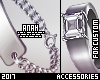 silver bracelet+ring