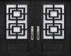 Dark Gray Front Door