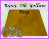 C2u Dark Yellow Rug