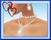 W|Sexy White Jewelry Set