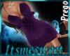Mia Prego Dress - Purple