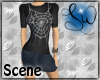 [SW] Web Shirt + Skirt
