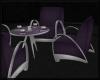 Retro Club Table Purple