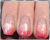 Orange Nails & Ring