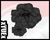*Y* Hair Flower Black