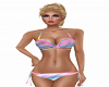 Rainbow Ombre Bikini