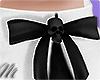 ☾ Blessed skull bow