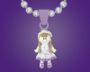 Purple Dolly Necklace