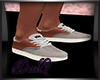 DQ Vans Cream Shoe M