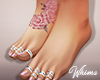 Summer Pink Bare Feet