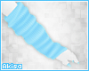 |A| Blue Arm Warmers (F)