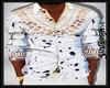 African Dashiki White