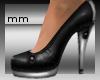 mm black heels