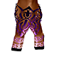 Purple Flame Boot