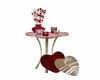 Valentine Hearts Table