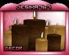 *Tuscan|Decor|Candles