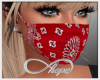 Mask - Red Bandana 2