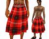 Red Belted Kilt