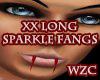 XX Long Sparkle Fangs