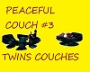 PEACEFUL COUCH #3 TWINS