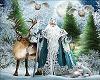 Frameless Christmas Art