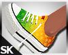SK  Weed Sneakers