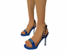 Blue Sparkle Shoes