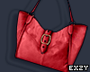 Red Handbag .