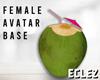 Coconut avatar base F