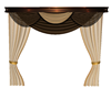 Brown & cream Curtain2