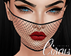C` Mesh Mask Black