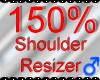*M* Shoulder Resizer 150