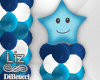 Balloon Column & star