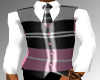 blk/pink vest with shirt