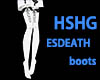 HSHG ESDEATH BOOTS