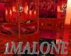 (1M)RED DRAGON BEDROOM